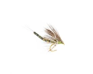 Mayfly Dun Olive #10