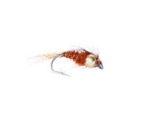 Mayfly Brown Gold Nugget #10