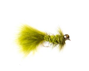 Olive Woolly Bugger Leech