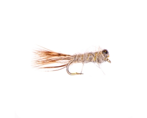 Peeping Caddis Hare's Ear Emerger #8