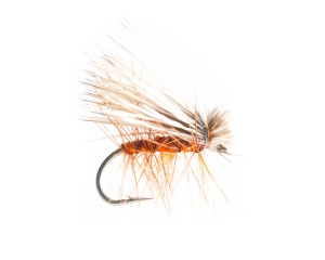 Elk Hair Caddis Orange #12