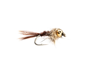 Pheasant Tail Gold Nugget